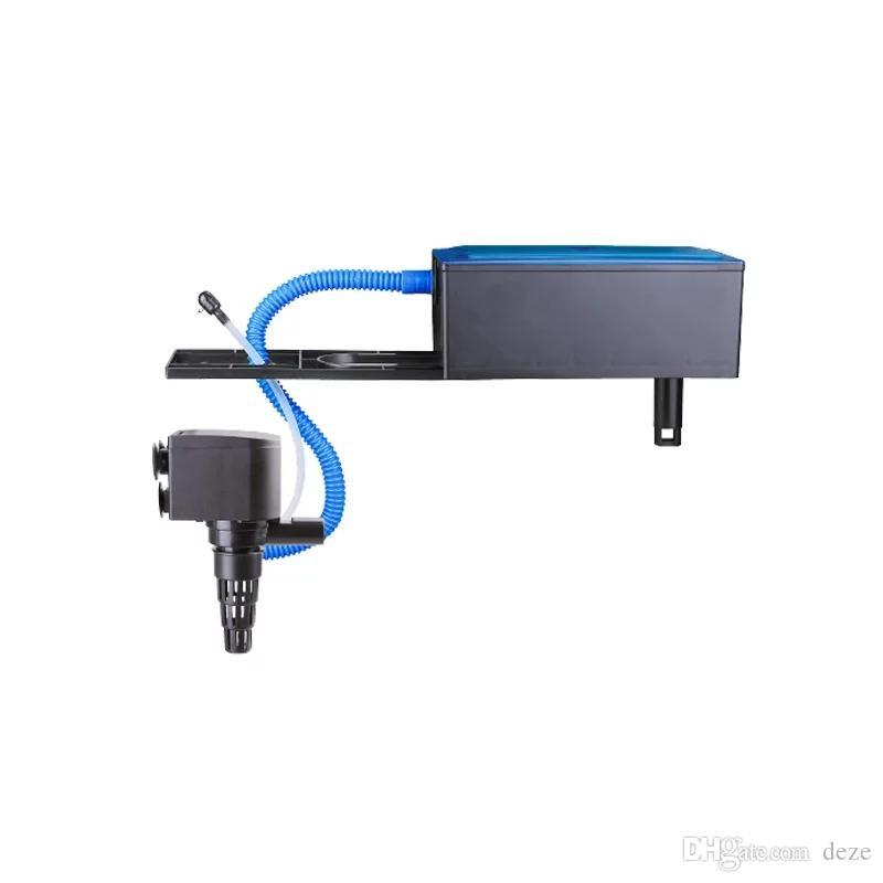 Resun 12W 15W 25W аквариум Top фильтр насоса Plastic Box Водяной фильтр Погружной насос ж / Фильтр Медиа RS-188A 288A 388A