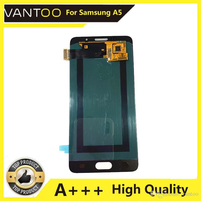 Screen For Samsung Galaxy A5 2016 LCD Display Touch Screen Digitizer TFT Assembly Replacement Brightness Adjustable