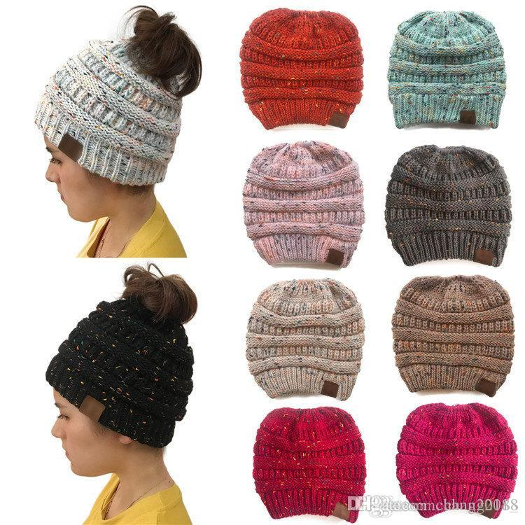 designer Hats caps Parents Kids Knitted Hats Baby Moms Winter Knitted Hats Warm Trendy Beanies Crochet Caps Outdoor Slouchy Beanies 181201