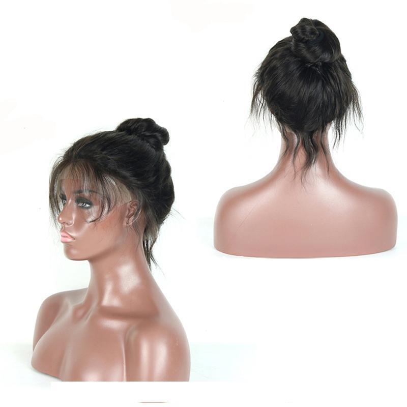 Новое поступление 360 кружева фронтальные волосы волосы с 360 полными вокруг детских волос, волна тела Precucked бразильские перуанские малазийские дешевые парики