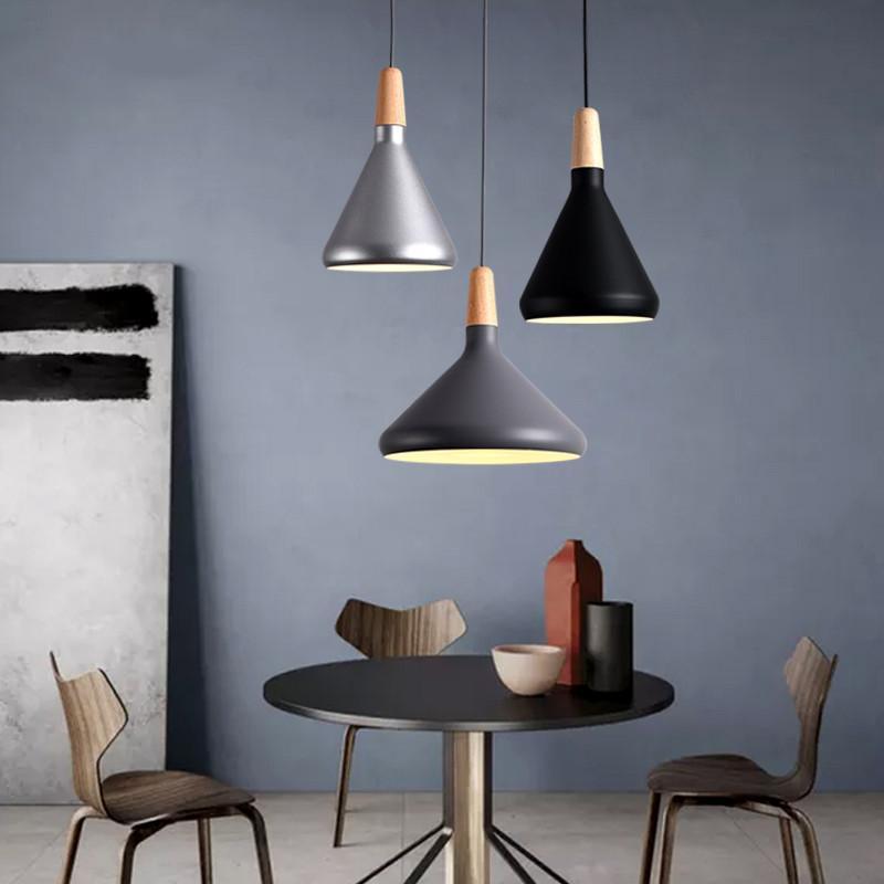 Retro Pendant Lights Modern Led Pendant Lamps Copper Hanglamp Aluminum  Luminaria For Living Room Kitchen Light Fixtures Ball Pendant Light  Rectangular ...