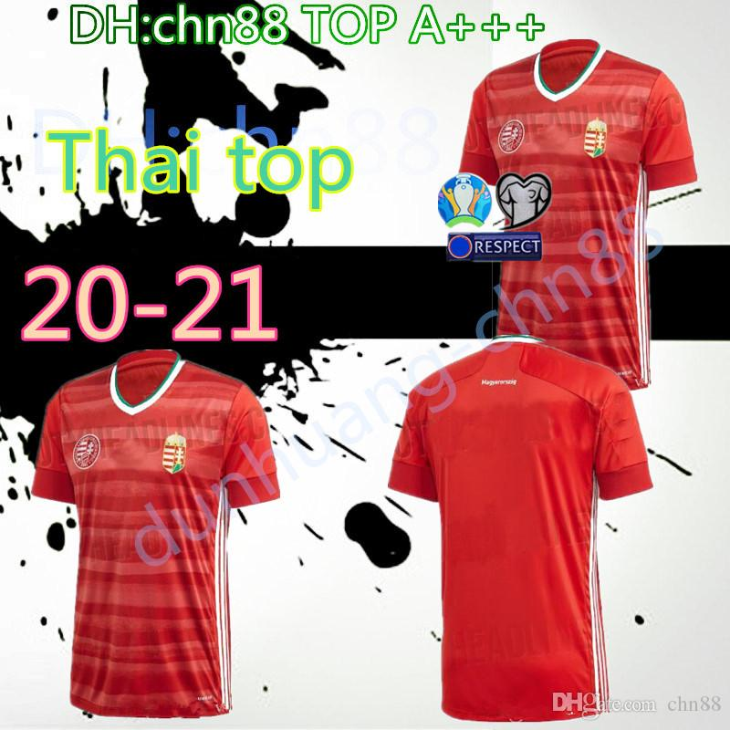 Euro 2020 Macaristan futbol forması ev 20 21 Avrupa kupası Dominik Szoboszlai Willi Orban Tamás Kádár futbol üniforma gömlek thailand top kırmızı