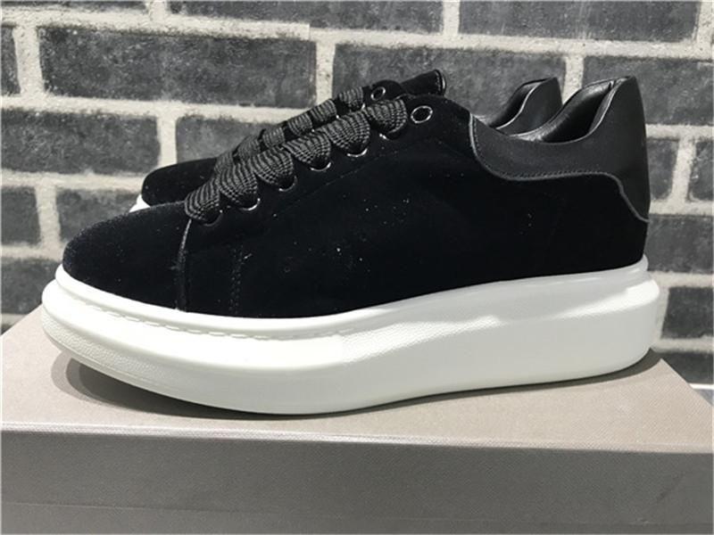 Scarpe Uomo Scarpe Donna Casual Luxury Fashion Designer Lace-Up Walking cuoio poco costoso migliore camoscio grigio Piattaforma Sneaker L14