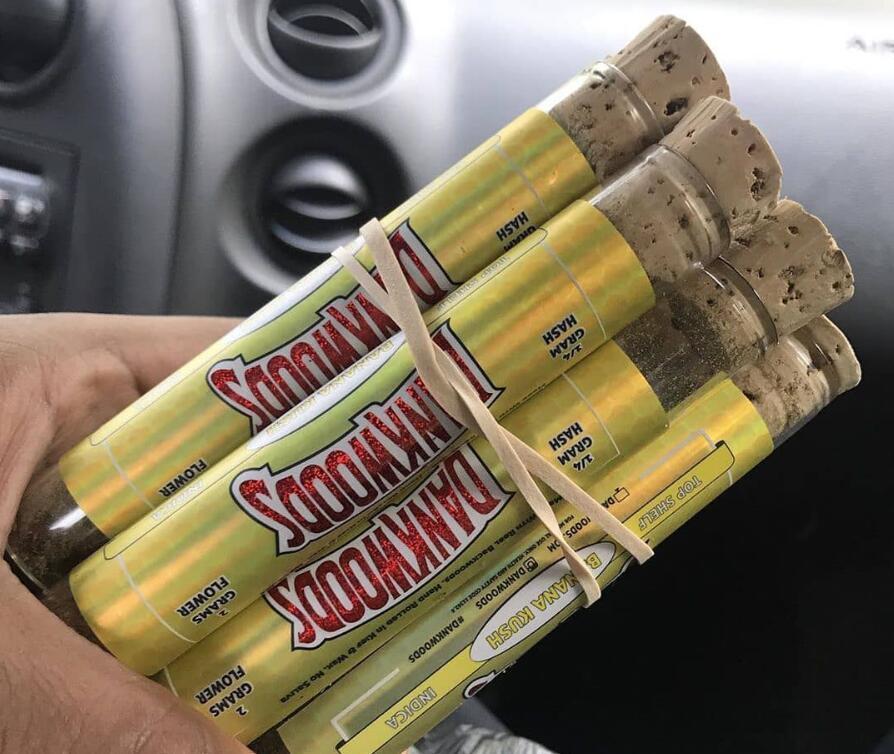 Cheap dankwoods упаковочные стеклянные трубки с деревянными пробками сухой травяные травяные сырые довольные ароматы наклейки пакеты backwoods moonrock упаковка