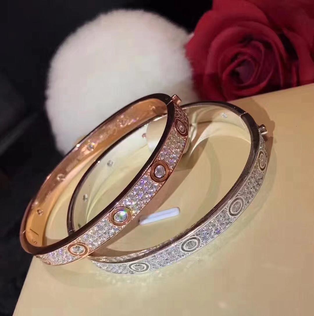 Argento cuore attraverso le donne affrontano Bracciale aprire lo snap-ingrosso di gioielli