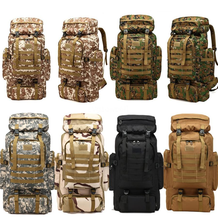 2020 Styles Oxford Outdoor Tactical Backpack Camouflage Bags Mountaineering Climbing Rucksuck Men Camping Hiking Backpacks Travel Bag G58 #47