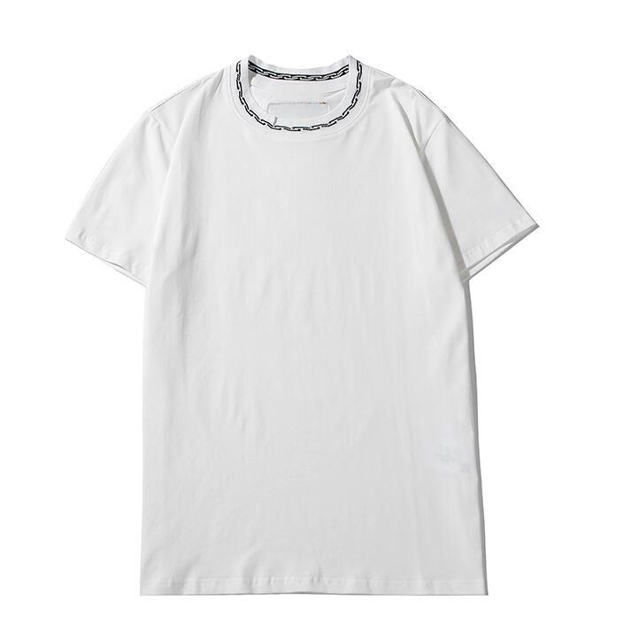 Summer Mens T Shirt Casual Letter Printed Cotton Short Sleeve Streetwear Black White T-Shirts Top Tees