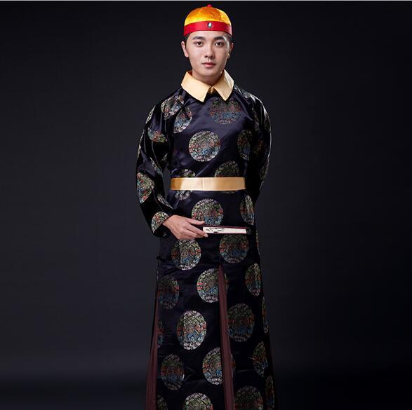 introduzione di costume antico Xi Yan allo stesso costume antico del costume di Qianlong della dinastia Qing imperatore prestazioni ritratto di una GE