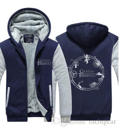 New plus velvet thick sweater coat printed casual hoodie off-road cycling jacket