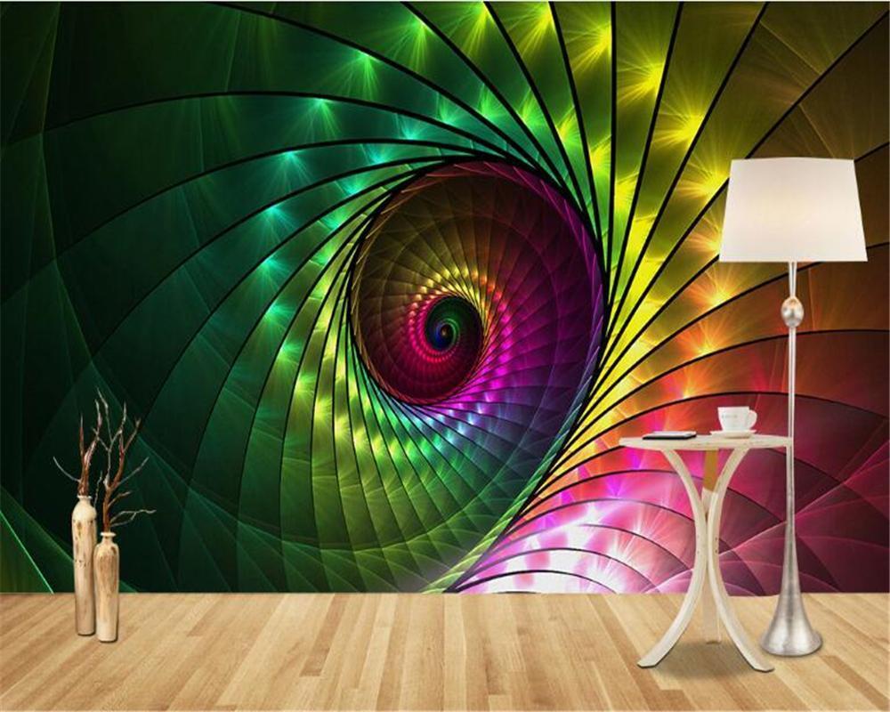 Wand europäische Mode Fantasie klassische Interieur Tapeten klassische einfache Stereo-Vision heller Hintergrund Wand papel de parede3D