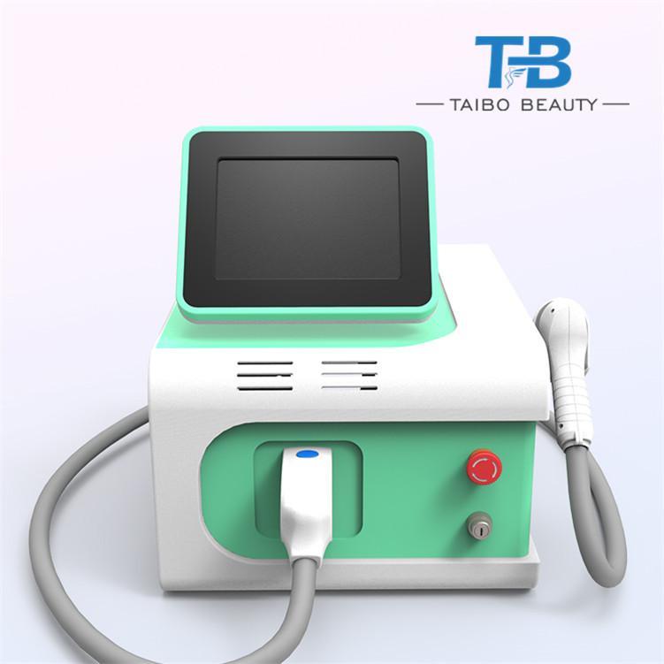 La eliminación de la marca New 808nm diodo láser cabello máquina indolora depilazer cuidado de la belleza con la venta pantalla grande
