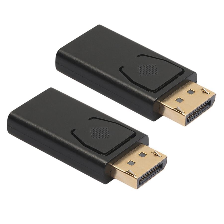 포트 DP 남성에 HDMI 여성 어댑터 블랙 고품질 DP로 HDMI 컨버터 HDTV PC JK2006XB 표시