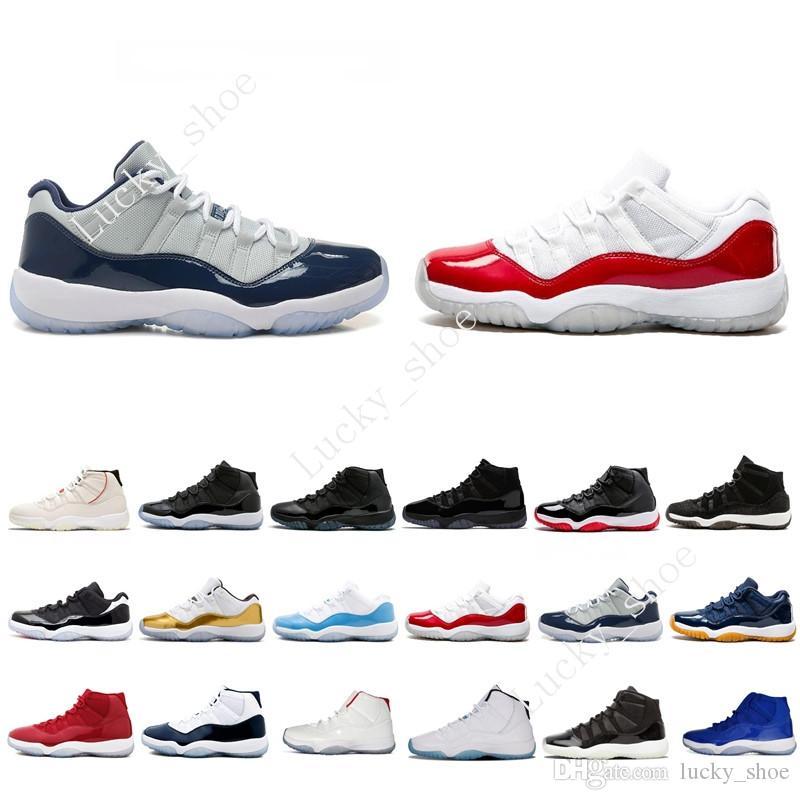 11 XI BlackDevil Basketballschuhe Herren 11s Space Jam 45 Gym Rot Midnight Navy 11s Concords Moon Landing PRM Erbin Schwarze Stingray Sneakers