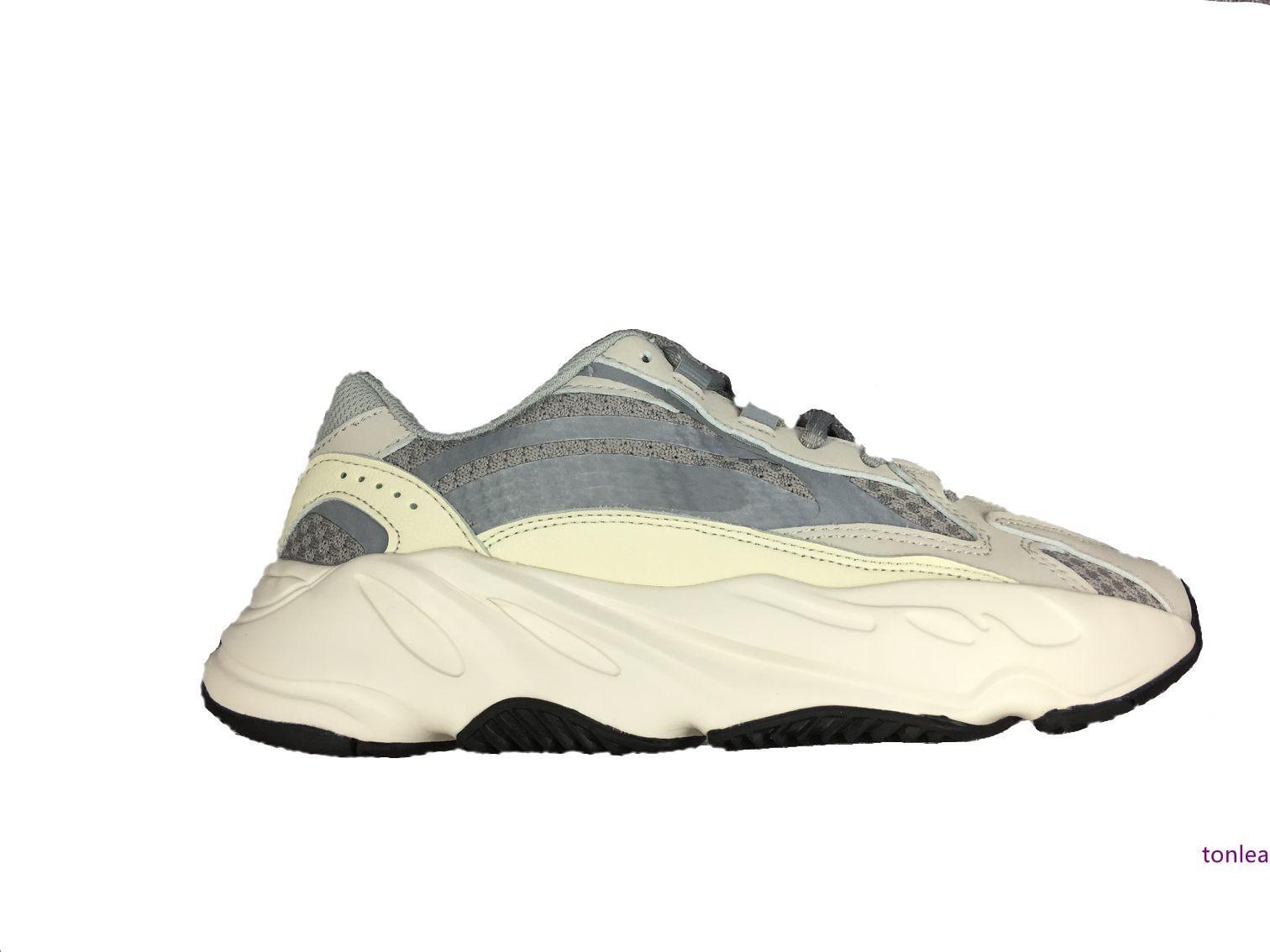 onda estática corredor V dois reflexivas tênis oeste barata 2019 novos homens formadores sneakers corredor das mulheres calçados esportivos com