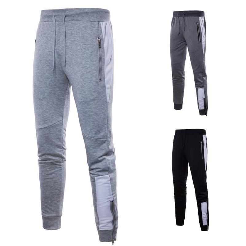 SWAGWHAT мужские бегуны повседневные брюки Фитнес Мужчины Спортивная одежда Спортивные костюмы Bottoms Узкие Sweatpants Брюки Gyms Jogger Тренировочные брюки
