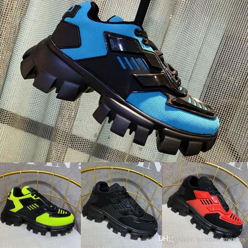 Nouveau Homme Cloudbust de Thunder Knit Chaussures Femmes Mode Casual Italie Chaussures Baskets en cuir véritable Hommes Luxe Chaussures Designer