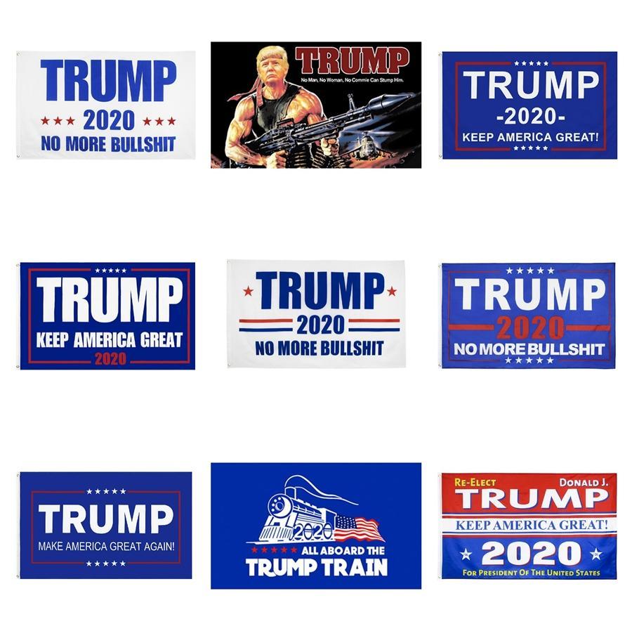 Сад 90 * 150см Trump 2020 Флаг Keep America Великий президент кампании Флаг Donald Trump Флаги Party Decor Баннер Флаги 6074 # 956