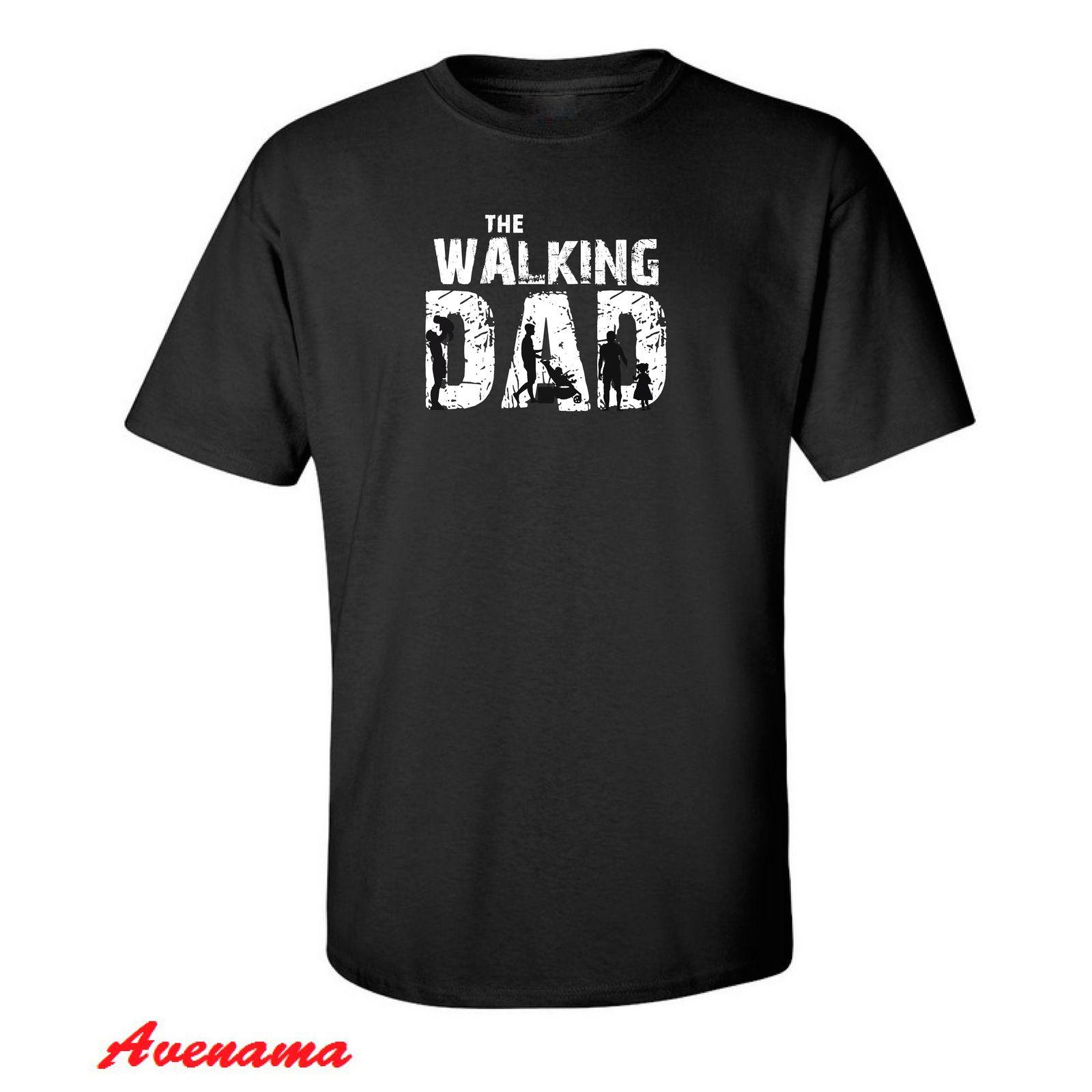 The Walking Dad T Shirt Fan Father Day Funny Present Mens Gift Top T-Shirt Dress
