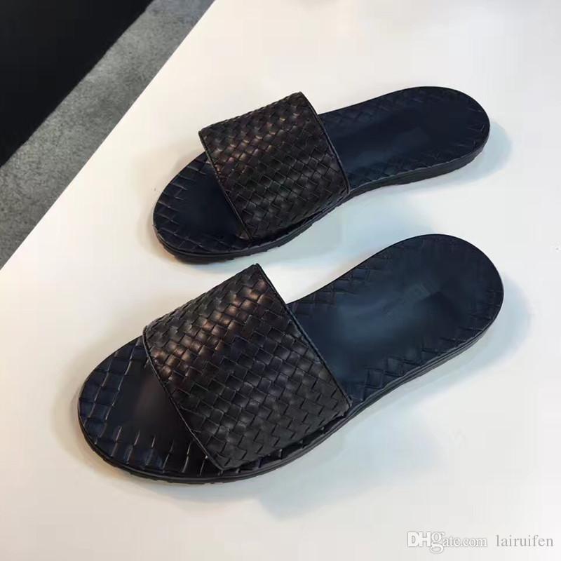 hombre de la venta caliente baratos zapatillas pico mejor base de goma de caucho de tamaño real del 38-45 zapatillas de cuero