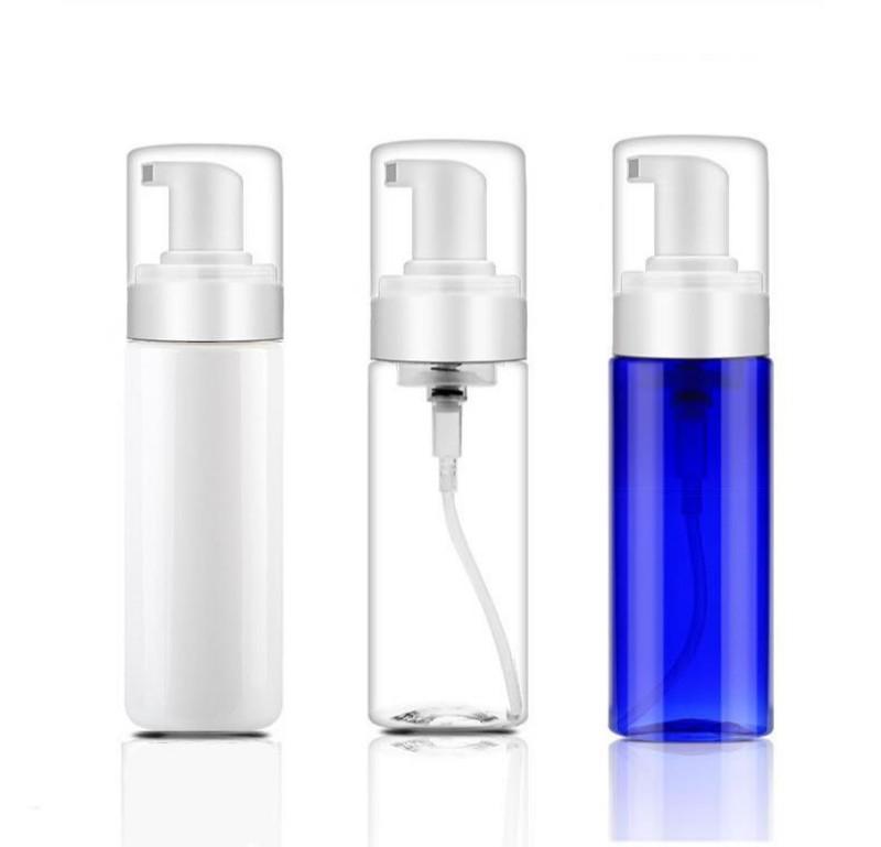 150ML رغوي مضخة بلاستيكية زجاجة صابون الرغوة موزع القابلة لإعادة التعبئة المحمولة فارغة رغوي صابون الرغوة موزع السفر زجاجة صغيرة الحجم