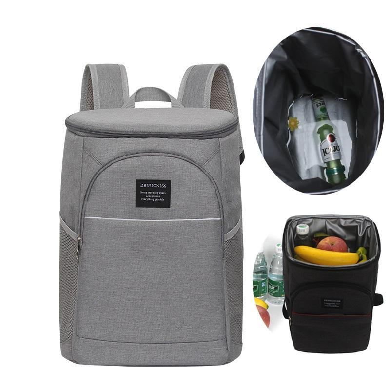 Isolier-Cooler Picknick-Beutel Funktionsmuster für Arbeit Reisen Klettern Rucksack Lunch Box Bolsa Termica Loncheras