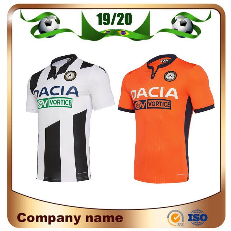 19/20 Maglia Udinese Calcio Football Jersey 2020 Accueil J.LARSEN Okaka R.DE PAUL football shirt LASAGNA Machis football uniforme