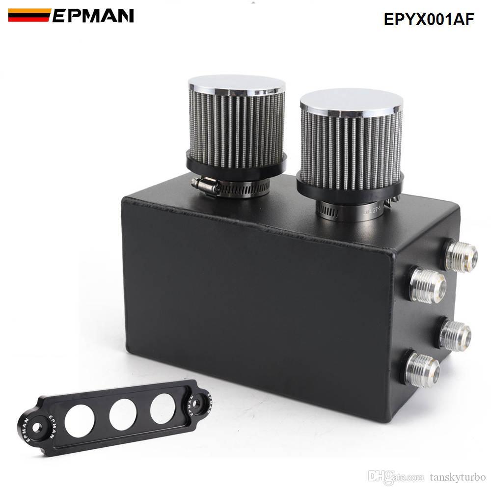 EPMAN -NEW Racing Oil Catch Can Breather Serbatoio per Honda Civic Integra EK EG DC EPYX001AF