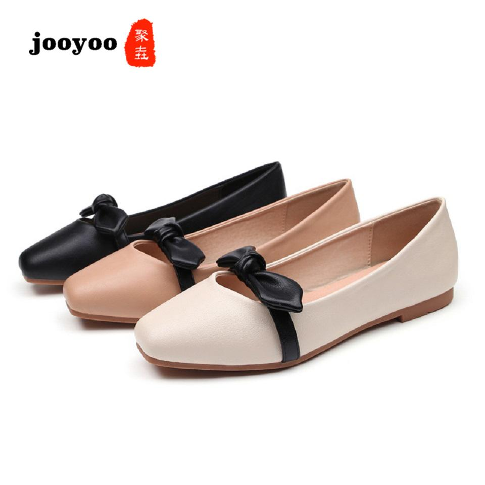 New Fashoin Woman Shoe Ladies Flat Female Trend Platform Thin Shoes Soft Sole Suede Square Toes Moccasin-Gommino
