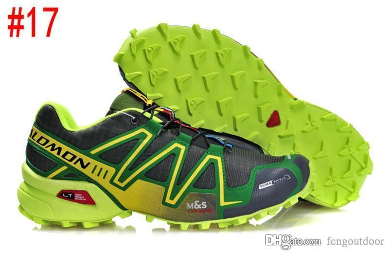 Hız Çapraz 3CS III Açık Erkek Kamuflaj Kırmızı Siyah Spor Ayakkabı Solomon sıcak satış 3 koşu ayakkabıları 40-46 fengoutdoor eur Hız Crosspeed mens