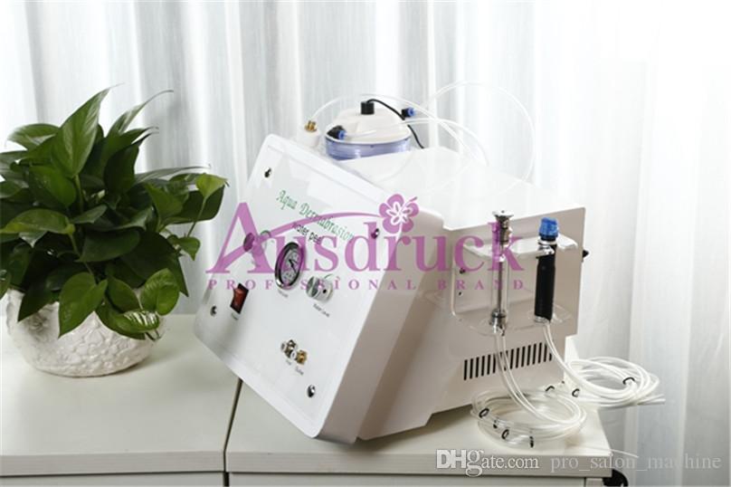 Ücretsiz Hydra Yüz Makine Su Soyma Elmas Dermabrazyon Cilt Gençleştirme Cihazı Mikrodermabrazyon güzellik makinesi Salon Profesyonel