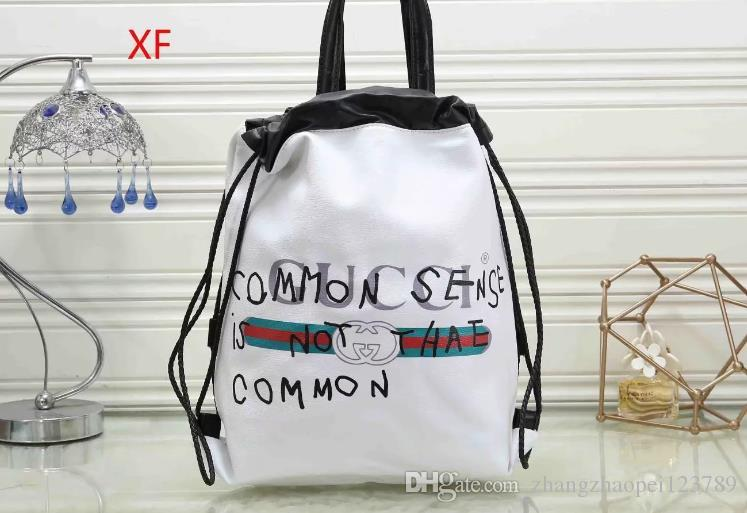 Backpack female 2020 new European and American popular fashion backpack personality wild transparent simple jelly bag#001