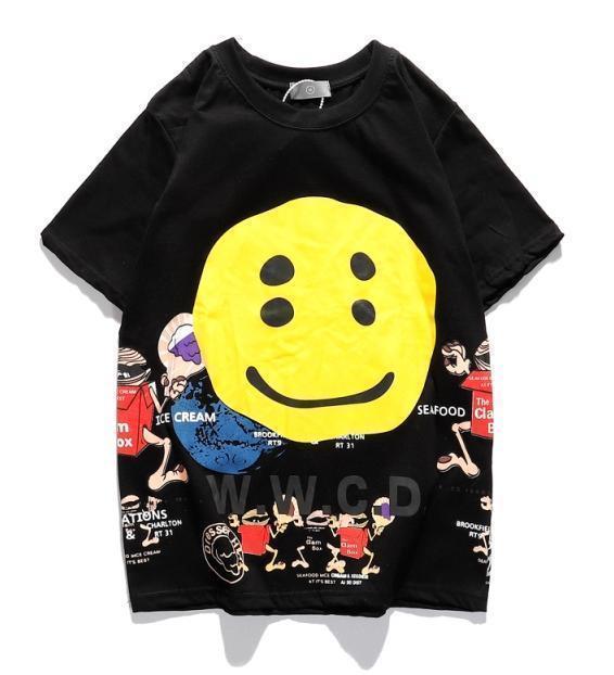gömlek yaz t 2020 erkek i gündelik Tees erkek clothinge7513 # yazdır Pablo Tee kısa Kol O yaka t Gömlek Kanye West Mektubu gibi hissediyorum