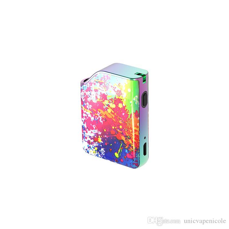 Elegante Vape Pen Kit Con 500mAh Long Endurance batteria 4 Tensione Impostazione Vape Box Mods OEM benvenuto