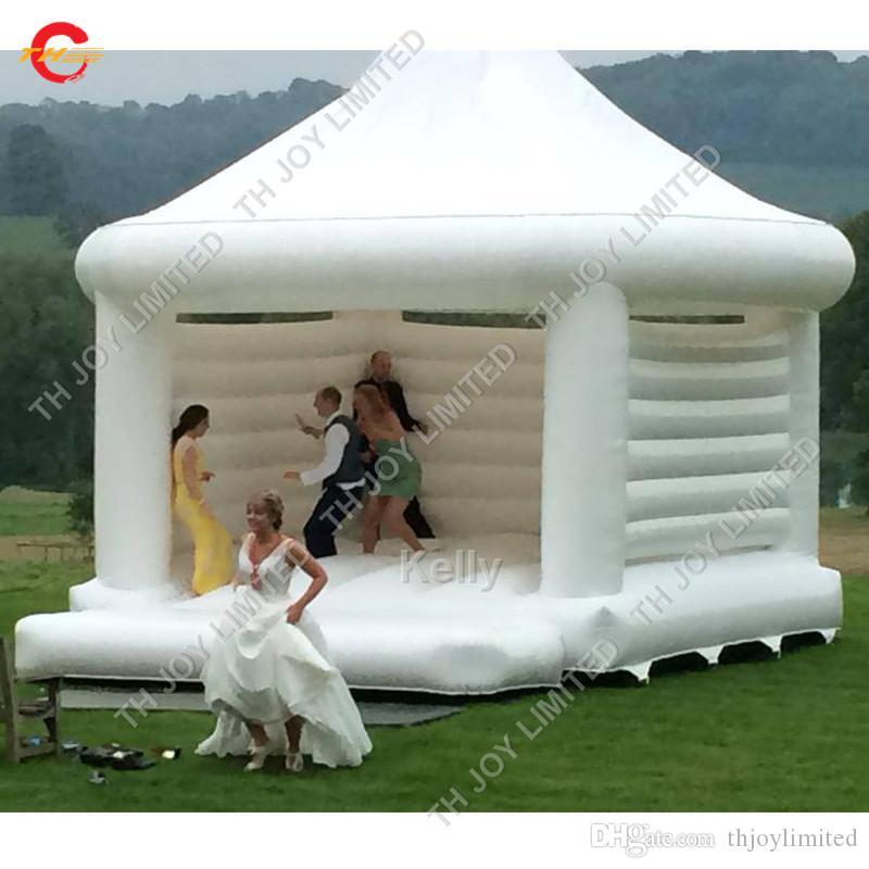 заказ надувные свадьбы вышибала открытой белого надувная вышибалы дом портативной надувной Надувной замок перемычка для детей взрослых