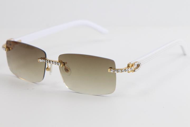 큰 돌 폭풍 된 흰색 판자 선글라스 8200757 패션 고품질 독특한 태양 안경 남성과 여성을 운전하기위한 최고의 선글라스