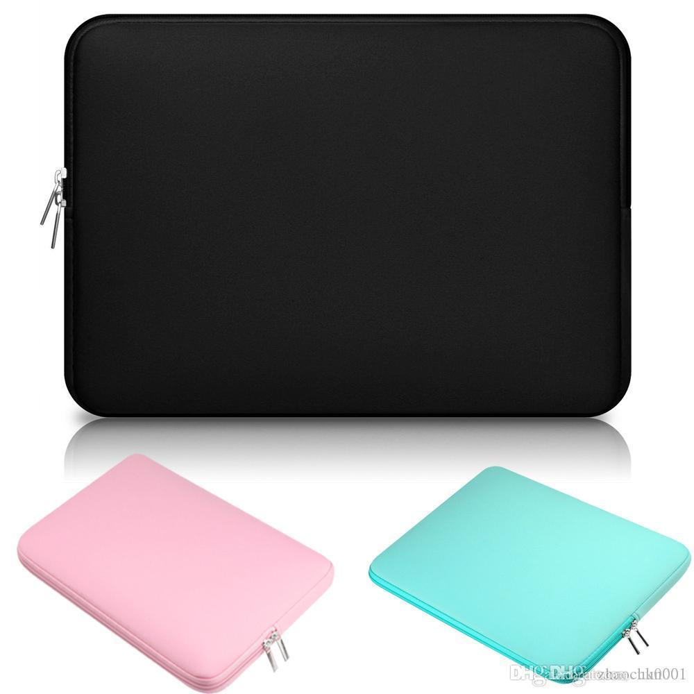 UK NEW Soft Messenger Bag Laptop Notebook Sleeve Handbags Protective Cover Case For 11 12 13 15 inch Macbook Mac Air Pro Retina Dell