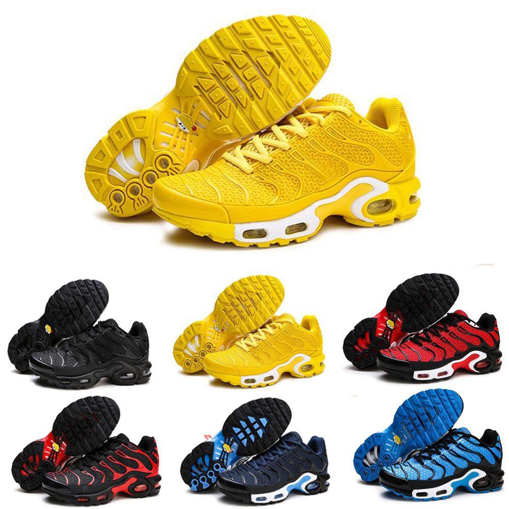 nike TN plus air max airmax 2019 Zapatillas de running para hombre Zapatillas clásicas negras rojas azules amarillas transpirables para caminar al aire libre