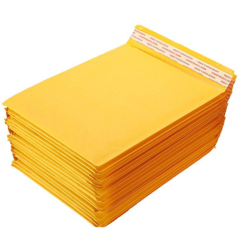 10 PCS / Lot Bubble Mailer différentes spécifications d'expédition Enveloppe rembourré Mailers Avec Sac postale Bulle