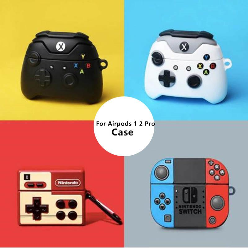 2020 Switch Gaming Case With Hook For Airpods Pro 2 3 Air Pods Pro