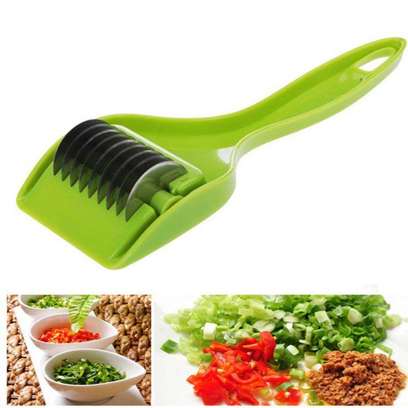 Criativo Vegetal Spice Cutter Scallion Chopper Alho Cebola Verde Herb Cortador Shredders Faca Ferramentas De Corte De Cozinha