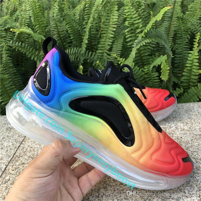 Top Quality 720OG Running Shoes BE TRUE Sunset Northern Lights Day Night Be True Mens Womens Neon Throwback Future Designer Sneakers Geox Shoes Cheap
