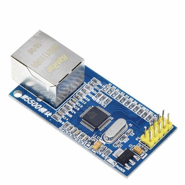 2pcs W5500 Ethernet módulo de red / TCP de hardware / pila de protocolos IP tablero de 51 desarrollos conductor / STM32