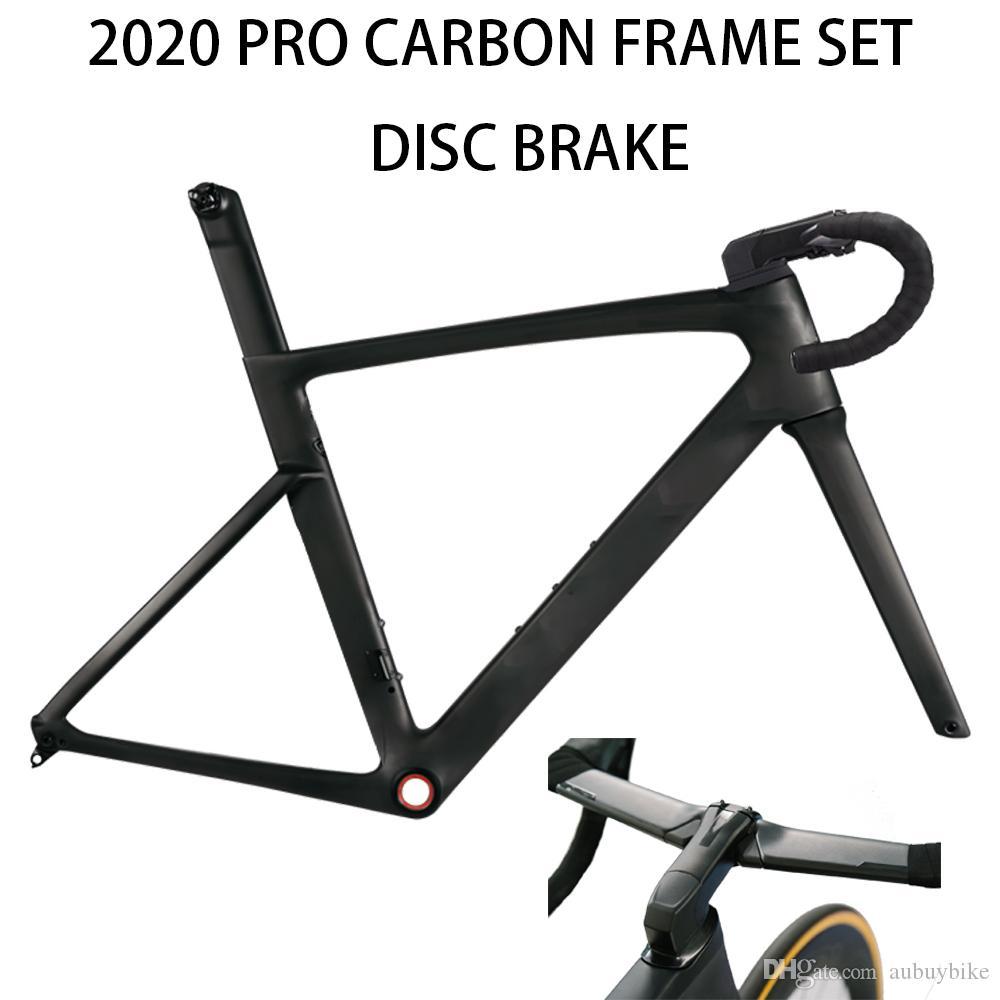 2020 NOUVEAU T1000 SAGAN haut frameset vélo frein à disque à disque de course de vélo cadre de route en carbone fait taiwan XDB navire DPD