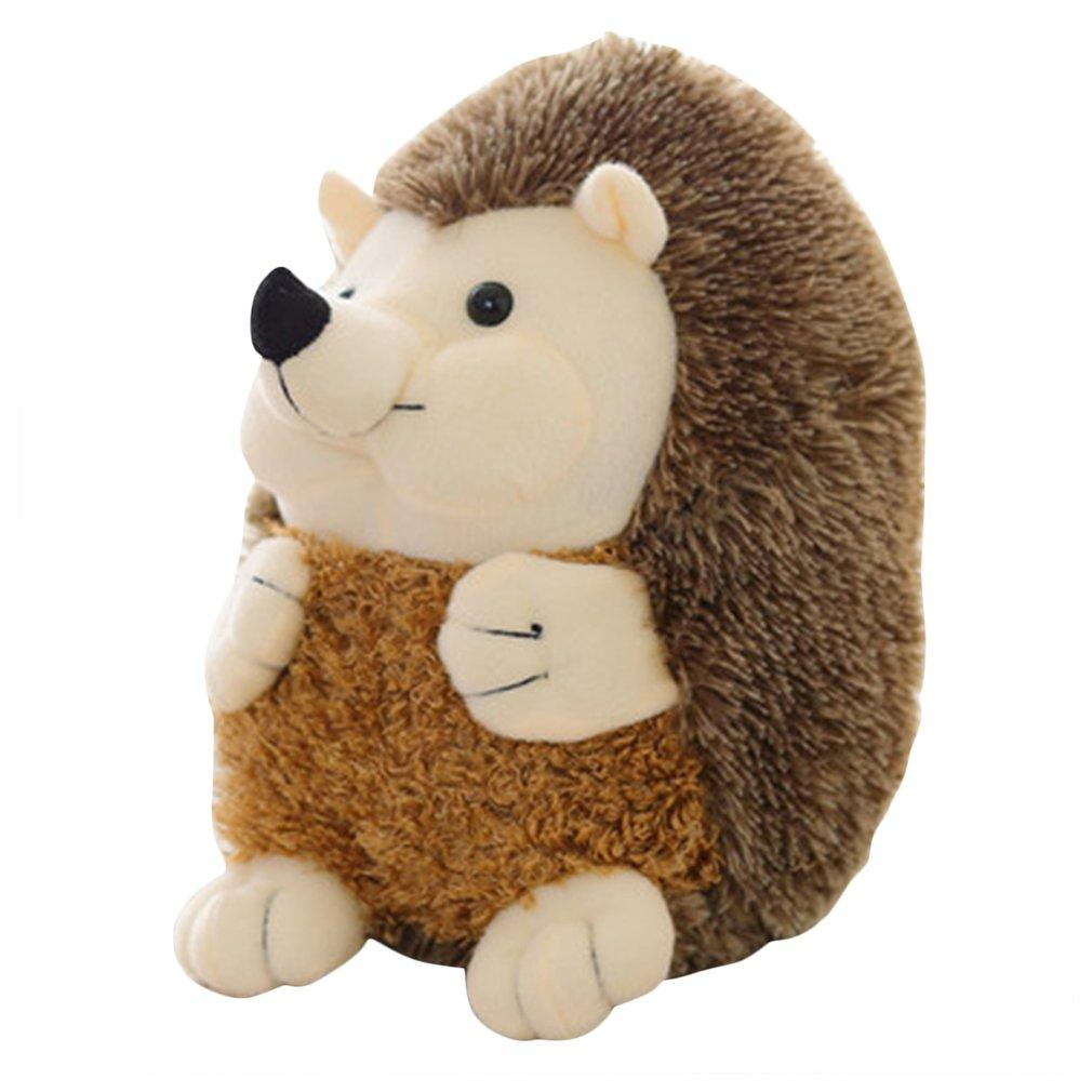 OCDAY 1PC 15CM Cute Lovely Soft Hedgehog Animal Doll Stuffed Plush Toy Child Kids Home Wedding Party Toys Appease Doll New Hot