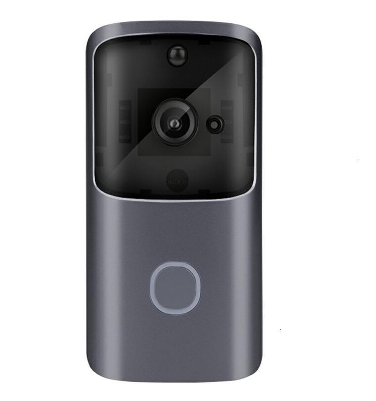 2020-New M10 Vidéo Wifi sonnette sans fil HD 720P de Smart Home IP caméra de sécurité Sonnette d'alarme IR vision nocturne