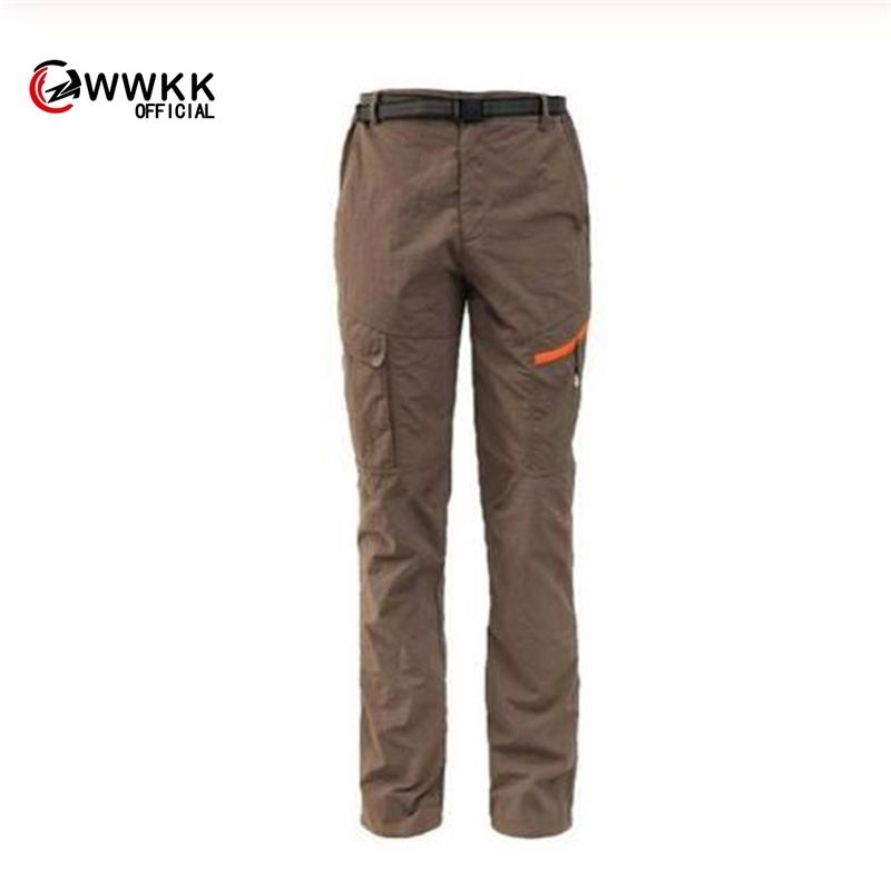 WWKK nuovi sport esterni Trekking Escursionismo asciugatura rapida Pantaloni Uomo Camping Arrampicata uomo Pantalone Windstopper traspirante Pantaloni
