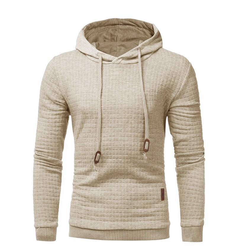 Mens Fashion Brand Casual overs Nouveau Arrivée Hoodies Couleur naturelle manches longues Designer Nouveau style Sweatershirt Top Quanlity