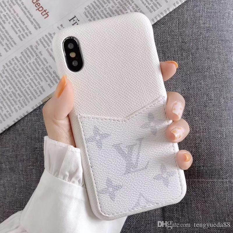 Fashion Paris Show Great Phone Case for iphone 11 Pro Max Xsmax X XR 7 8 plus Top Quality Real Leather Phone Case