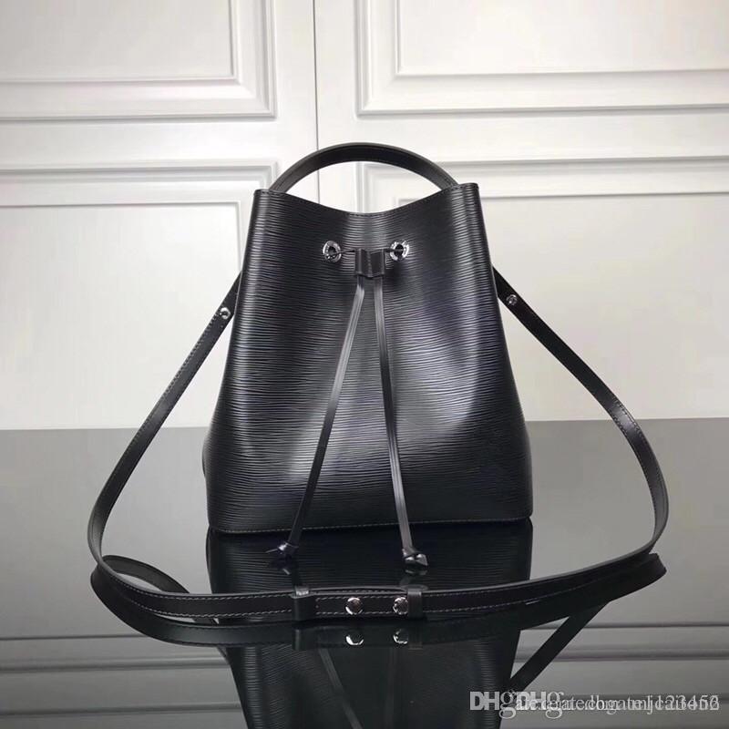 Кожаные кожаные сумки дизайнерские сумки Neonoe сумки ведро мешок скручивание Crossbody кошелек плечо мода оригинальные известные печатные цветочные бренды wom lqbq