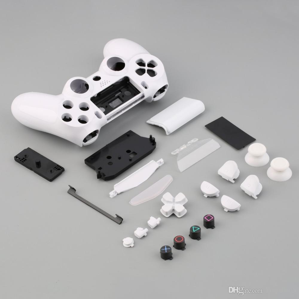 Горячая распродажа Геймпад Контроллер Корпус W / Кнопки Kit для PS4 Ручка Крышка Чехол В наличии!